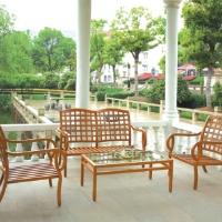 4pc Cast Aluminum Outdoor Patio Furniture Dining Set