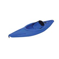 8 ft Polyethylene Sit-In Kayak w/ Padded Back Rest