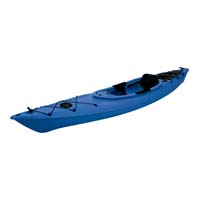 12 ft Polyethylene Sit-In Kayak w/ Portable Accessory Carrier