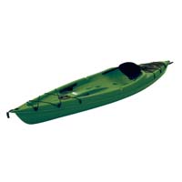 10 ft Polyethylene Sit-On Kayak w/ Portable Accessory Carrier