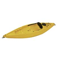 8 ft Polyethylene Sit-On Kayak w/ Padded Back Rest