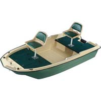 Brand New 11' Polyethylene Professional Fishing Boat