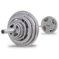 500 Lb. Steel Grip Olympic Set