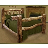 Brand New Custom Rustic Furniture Log Bed