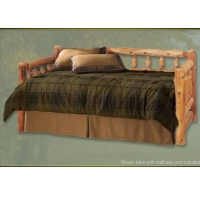 Brand New Rustic Furniture Rustic Aspen Log Day Bed