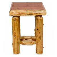 Brand New Rustic Furniture Lodgepole Legs Nightstand