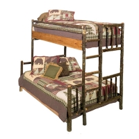 Brand New Rustic Furniture Hickory Bunk Bed