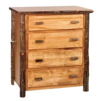 Brand New Rustic Furniture Hickory Blanket Chest
