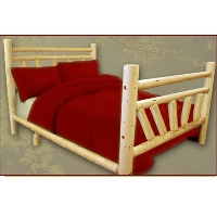 Brand New GoodTimber Rustic Furniture Double Rail Bed