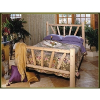 Brand New GoodTimber Rustic Furniture Sunburst Frame Bed