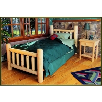 Brand New GoodTimber Rustic Furniture Cedar Log Bed