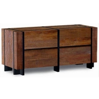 Brand New Rustic Furniture 4 Drawer Barn Wood Dresser