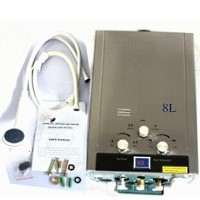 8L Natural Gas Tankless Water Heater - 1 Bathroom