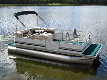 19 Ft Fishing Amp Crusing Pontoon Boat W 23 Quot Tubes Amp Front Fishing Seats