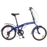 "TURISMO 20"" Alloy Folding Bike with Front Suspension"