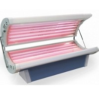 Wolff SunFire 24R Tanning Bed w/ Optional Facial Tanner