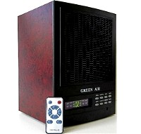 High Quality 2011 Cherry Green Air Digital Air Purifier & UV-C Sterilizer