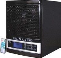 High Quality 2011 Green Air Pro Digital Air Purifier & UV-C Sterilizer