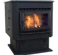 MagnuM Countryside Pedestal Corn Stove