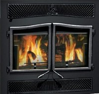 High Quality Country Flame Inglenook Fireplace