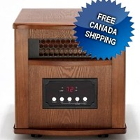 DYNAMIC 1500 INFRARED SPACE HEATER - 24 HOUR SALE - FREE CANADA SHIPPING!