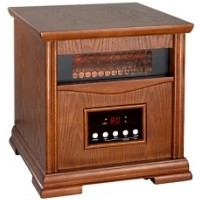 1500W Electric Infrared 4 Element Quartz Space Heater