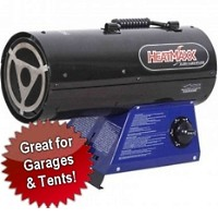 Propane 55,000 BTU Torpedo Forced-Air Gas Heater