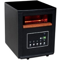 1500 Watt Lifesmart Infrared Quartz Heater w/ Remote Control - Heats 1500 Sq. Feet