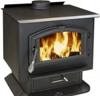 High Quality Large Wood Stove 2500 Warms Up To 2,400 Sq. Ft.
