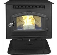 High Quality Multi-Fuel Pedestal Stove Warms Up To 2,000 Sq. Ft.