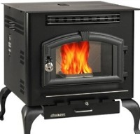 High Quality Multi-Fuel American Harvest Stove Warms Up To 2,000 Sq. Ft.