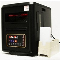 4 in 1 1500W Quartz Infrared Heater Humidifier Plasma Inverter Air Purifier