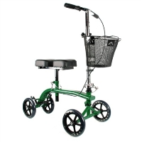Brand New High Quality Green Knee Rollator Walker Scooter Cruiser Roller