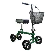 Brand New High Quality Green Knee Rollator Walker Scooter Cruiser Roller