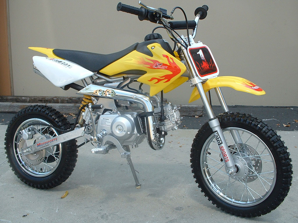 110cc rocket semi auto dirt bike for Used dirt bike motors for sale