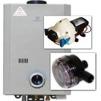 Eccotemp L7 Tankless Water Heater w/ Flojet Pump & Strainer Bundle