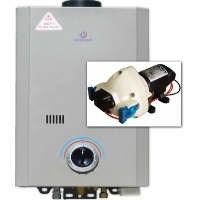 Eccotemp L7 Tankless Water Heater & Flojet Pump Bundle