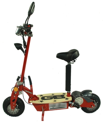 Stand Up Sit Down 800 Watt Electric Scooter