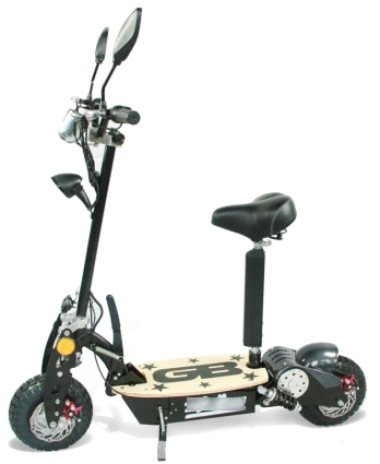 Electric Sit Down Scooter >> Stand Up/Sit Down 800 Watt Electric Scooter