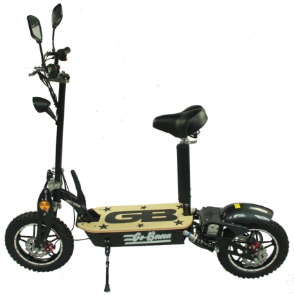 brand new stand up sit down 1000 watt electric scooter. Black Bedroom Furniture Sets. Home Design Ideas