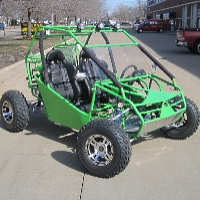 250cc Shaft Drive Power Buggy
