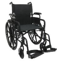Brand New High Quality Karman 802-DY – Ultra Lightweight Wheelchair with Flip Back Armrest