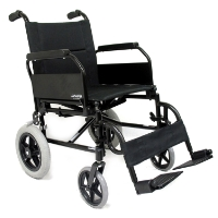 Brand New High Quality Karman KM-2020 – 24 lbs Flip Back Arm Transport Wheelchair