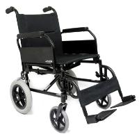 Brand New High Quality Karman KM-2020 – 24 lbs Flip Back Arm Transport Wheelchair