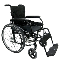 Brand New High Quality Karman KM-802F – 30 lbs Lightweight Aluminum Wheelchair