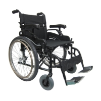 "Brand New High Quality Karman KM-8520 22"" Seat Lightweight Heavy Duty Wheelchair with Quick Release Wheels"