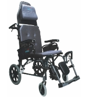 Brand New High Quality Karman MVP-502-TP – 34 lbs V-Seat Reclining Wheelchair