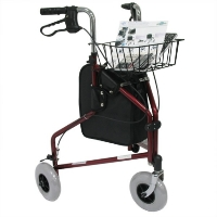 Brand New High Quality Karman 13 lbs 3 Wheel Rollator Combo