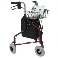 Brand New High Quality Karman 13 lbs 3 Wheel Rollator Combo