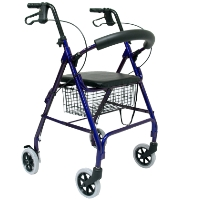Brand New High Quality Karman 12 lbs Festa Aluminum Rollator